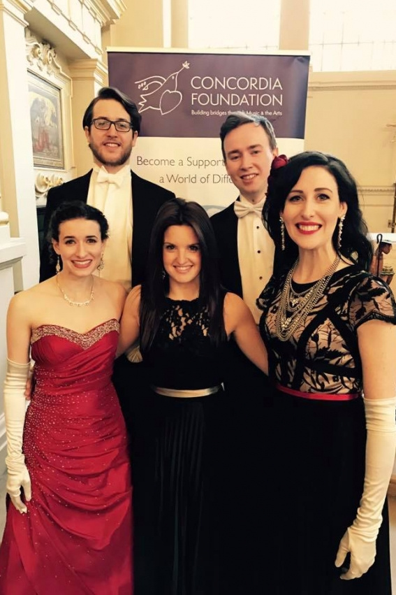 Concordia Foundation Concert: St Martin-in-the-Fields, New Year 2017. Photo by Concordia Foundation.