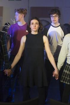 Sarah Labiner, Soprano. English National Opera Baylis Jenufa Project. Photo: Sarah Ainslie ©ENO
