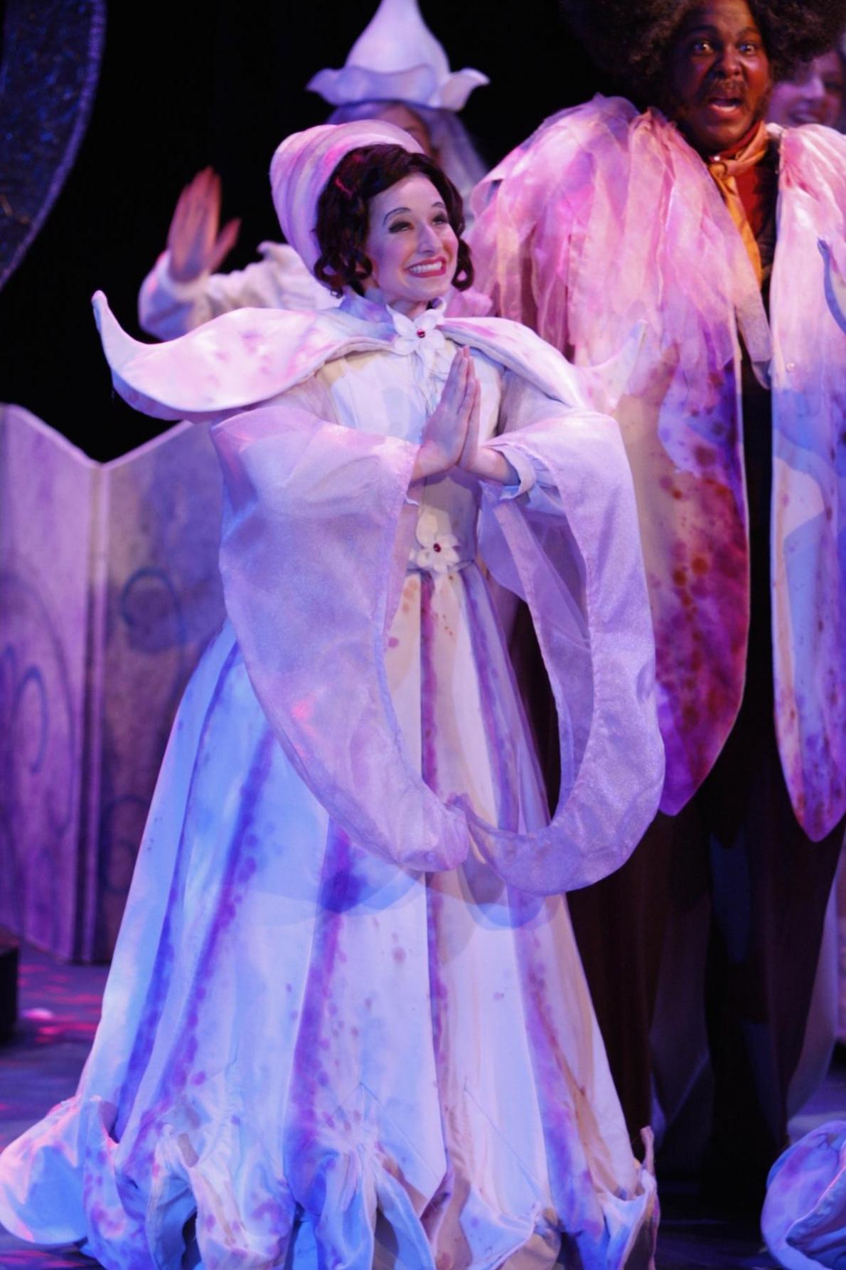 Sarah Labiner, Soprano. Clarice (Il Mondo Della Luna): A.J. Fletcher Opera Institute. Photo: Steve Davis