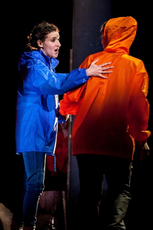 Sarah Labiner, Soprano. Zerbinetta (Ariadne auf Naxos) in 'Landscape' Scenes: ENO Opera Works, Bloomsbury Theatre. Photo: Rob Tyson Knights.